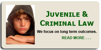 Juvenile Criminal Law