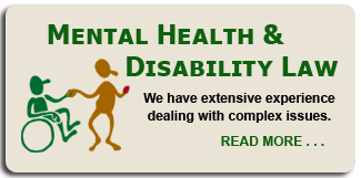Mental Health & Disability